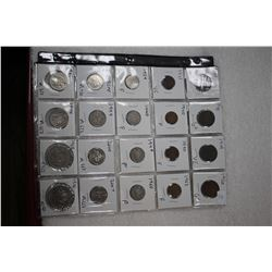 Canada Coins (Sheet of 20)