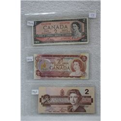 Canada Two Dollar  Bill (3)