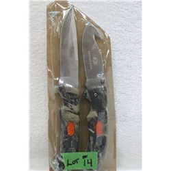 Mossy Oak - 2 pcs. - 1 Fixed & 1 Folding