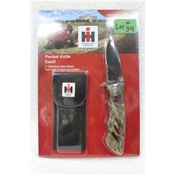 I.H.C. Collector Folding Knife & Sheath - New