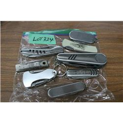 8 Pocket Knives