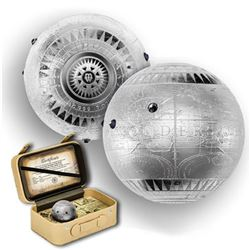 2015 7 oz Fine Silver Spherical Coin Seven New Wonders of The World Proof Finish