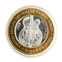 .999 Silver Hard Rock Hotel & Casino Las Vegas, NV $10 Limited Edition Gaming To
