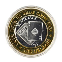 .999 Silver The Orleans Hotel & Casino Las Vegas, NV $10 Casino Token Limited Ed