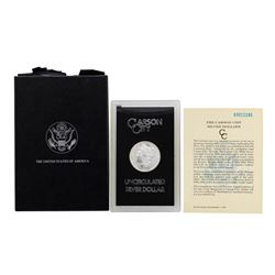1883-CC $1 Morgan Silver Dollar Coin GSA Uncirculated w/ Box & COA