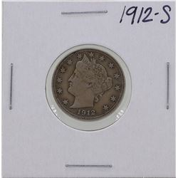 1912-S Liberty Head Nickel Coin
