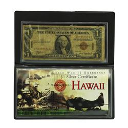 1935A $1 Hawaii WWII Emergency Silver Certificate Note
