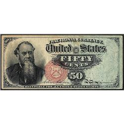 March 3, 1863 Fifty Cents 4th Issue Fractional Note
