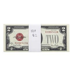 Lot of (18) 1928G $2 Legal Tender Notes