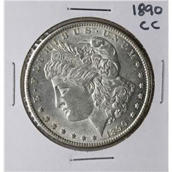 1890-CC $1 Morgan Silver Dollar Coin