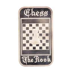Chess 1 oz .999 Fine Silver Art Bar Madison Mint