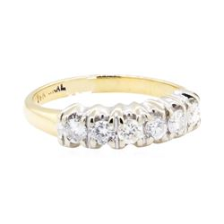 14KT Yellow and White Gold 0.50 ctw Diamond Ring