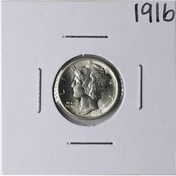 1916 Mercury Dime Coin