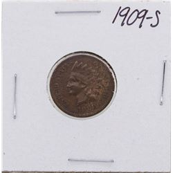 1909-S Indian Head Cent Coin