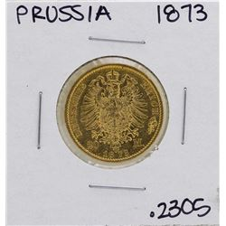 1873-B Germany-Prussia 20 Marks Gold Coin