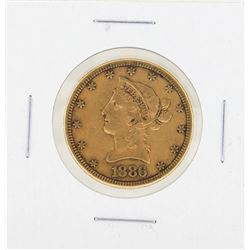 1886S $10 Liberty Gold Coin VF
