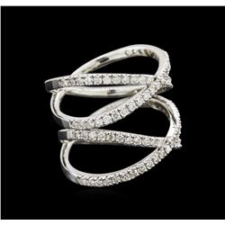 0.95 ctw Diamond Ring - 14KT White Gold