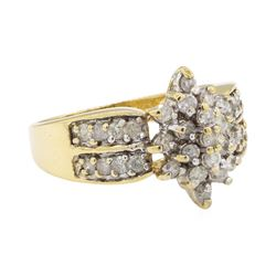1.06 ctw Diamond Ring - 10KT Yellow Gold