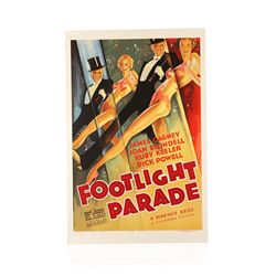 Footlight Parade Recreation 1 Sheet Movie Poster