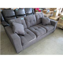 New Fabric Upholstered 7 Foot Sofa