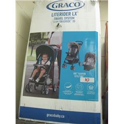 Graco Literider LX Travel System w/ Snuridge 30