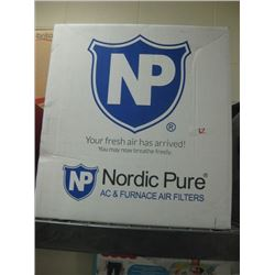 Nordic Pure Air Filters (6 qty) 16x24x4