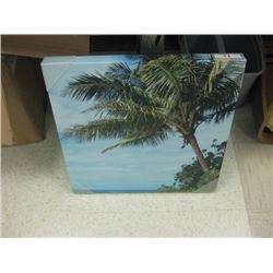 Palm Tree Canvas Photo