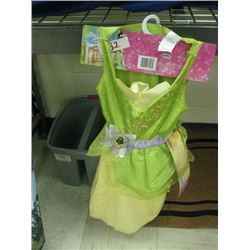 Princess Tiana Costume Dress Sizes 4-6x