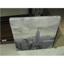 Skyline Canvas Photo