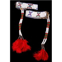 Sioux Fully Beaded Arm Bands from Sturgis SD 1900-