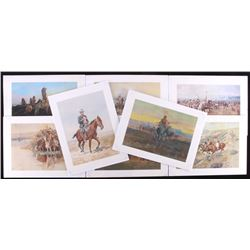Charles Russell Union 76 Print Collection (8)