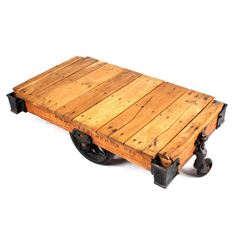 Early 1900's Original Lineberry Factory Cart