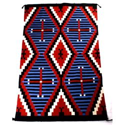 Navajo Third Phase Chief Pattern Style Rug