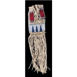 Sioux Beaded Pipe Bag c. 1890