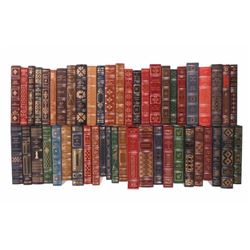49 Franklin Library Leather Bound Novel Collection