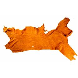 Prairie Gold Moose Hide Tanned Leather
