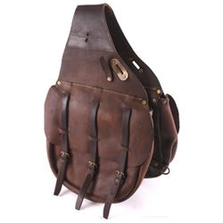 U.S. Military Cavalry Leather Saddle Bags