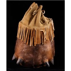 Montana Nez Perce Elk Dew Claw Bag