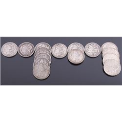 1884-1921 US Morgan Silver Dollar Collection x15