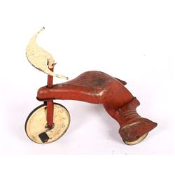 1930's Original Junior Toy Co. Sky Tot Tricycle