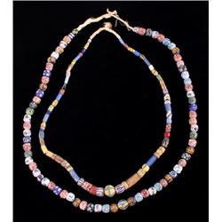 Mosaic Millefiori Bead Collection