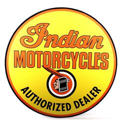 Indian Motorcycles Authorized Dealer Sign