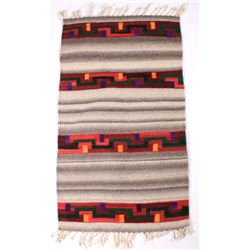 Zapotec Native American Dyed Wool Rug