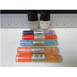 5 New Revlon Nail Art & 2 Wet & Wild nail color
