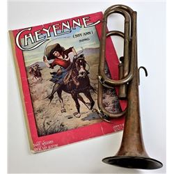 Collection of 2 includes Cheyenne sheet music