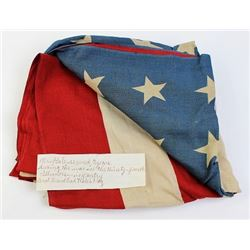 1905 48 star flag with family provenance.