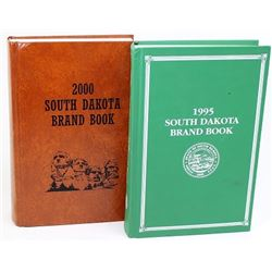 1995 and 2000 South Dakota brand books.