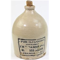 Original beehive 1 gallon advertising whiskey jug
