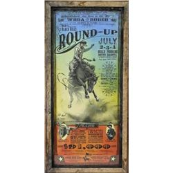 Belle Fourche Roundup Rodeo poster