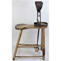 Primitive saddle or harness makers stitching